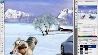 Відео урок фотошоп-робота зі слоями