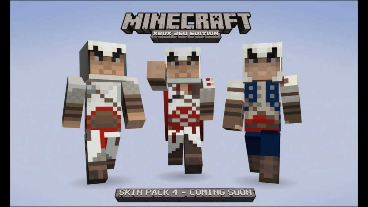 Skin Pack Assassins Creed Minecraft Xbox YouTube - Skin para minecraft pe de assassins creed