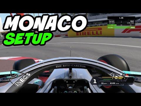 F1 2020 MONACO HOTLAP + SETUP (1:08.108)