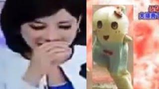 ふなっしー爆破事件に台湾美人女子アナが吹き出す放送事故www