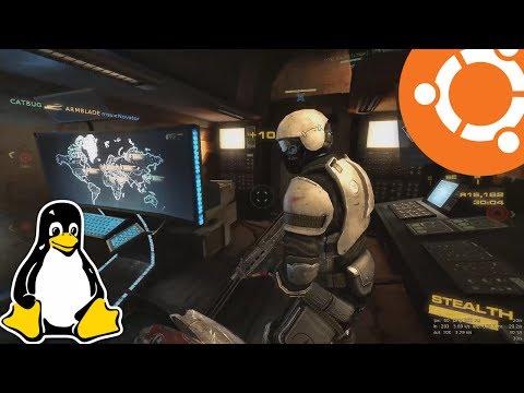 Nuclear Dawn Gameplay On Ubuntu Linux (Native)