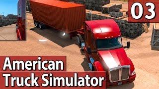 American Truck Simulator #3 WUNDERSCHÖNER SCHLEICHWEG PlayTest deutsch