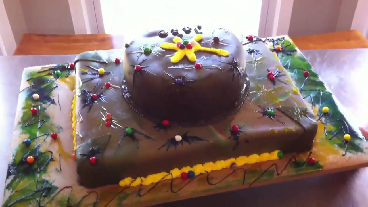 Paintball Birthday Cake Pictures