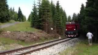 Pociąg retro lokomotywa ciuchcia