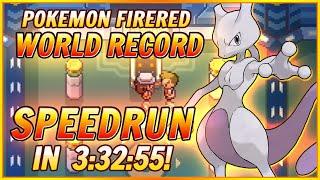 [Former World Record] - Pokemon Fire Red Elite 4 Round 2 Speedrun in 3:32:55! (Beat Champion Twice!)