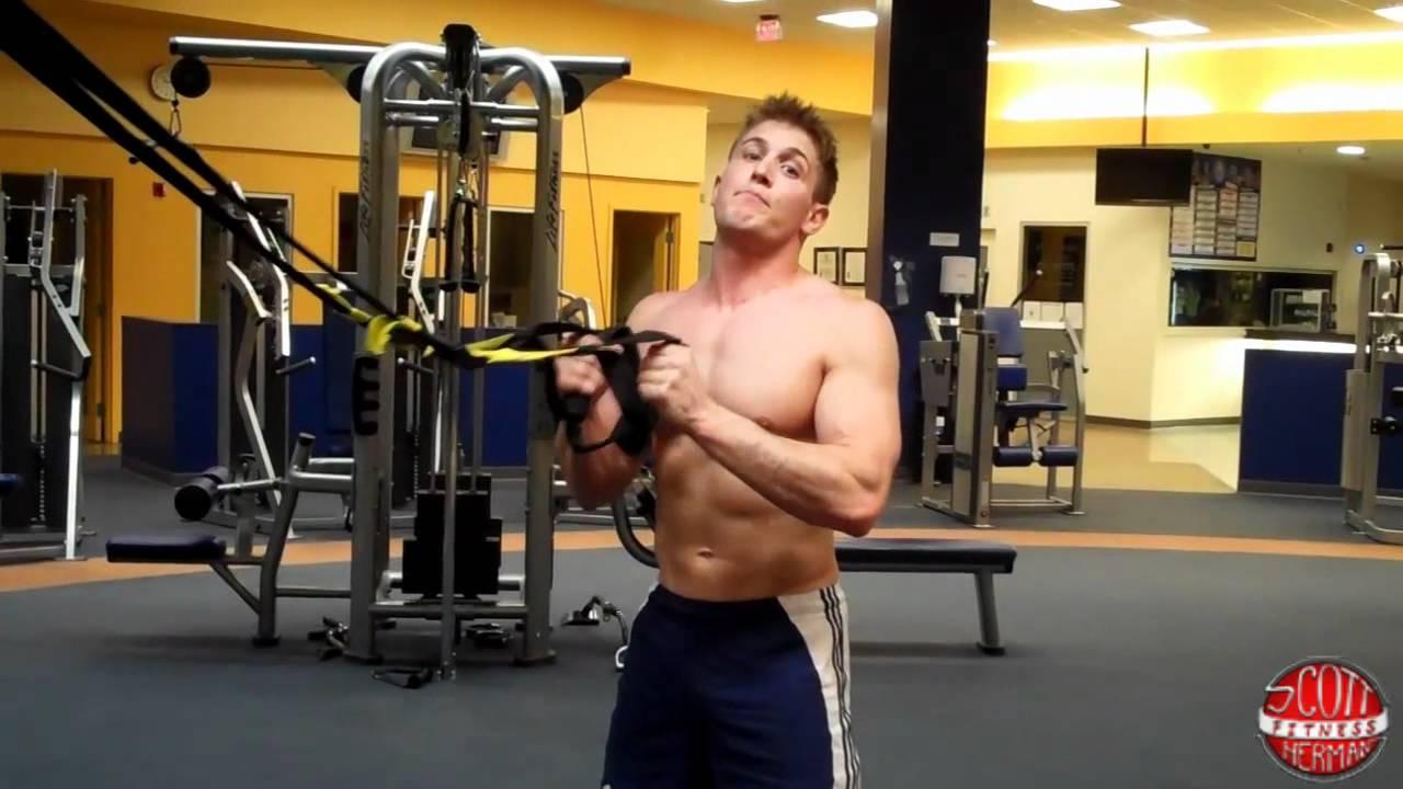 TRX Squat Tutorial Created by Scott Herman Fitness