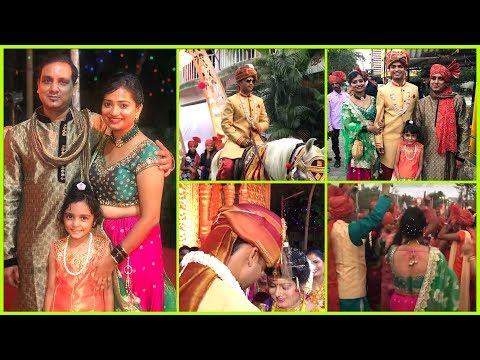 Brother Marriage Ceremony Vlog   Marathi Wedding Video   Indian Mom on Duty