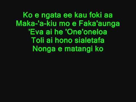 Letis Tukunga (Fua'amotu Song)