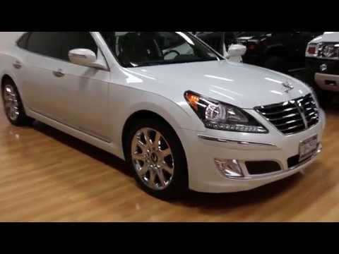 SOLD 2011 Hyundai Equus Ultimate For Sale LOADED Navigation Rear Buckets EVERY OPTION