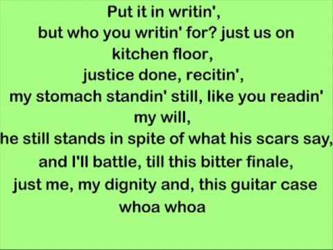 Amy Winehouse - Some Unholy War Lyrics