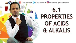 KSSM SCIENCE F2 – PROPERTIES OF ACIDS & ALKALIS