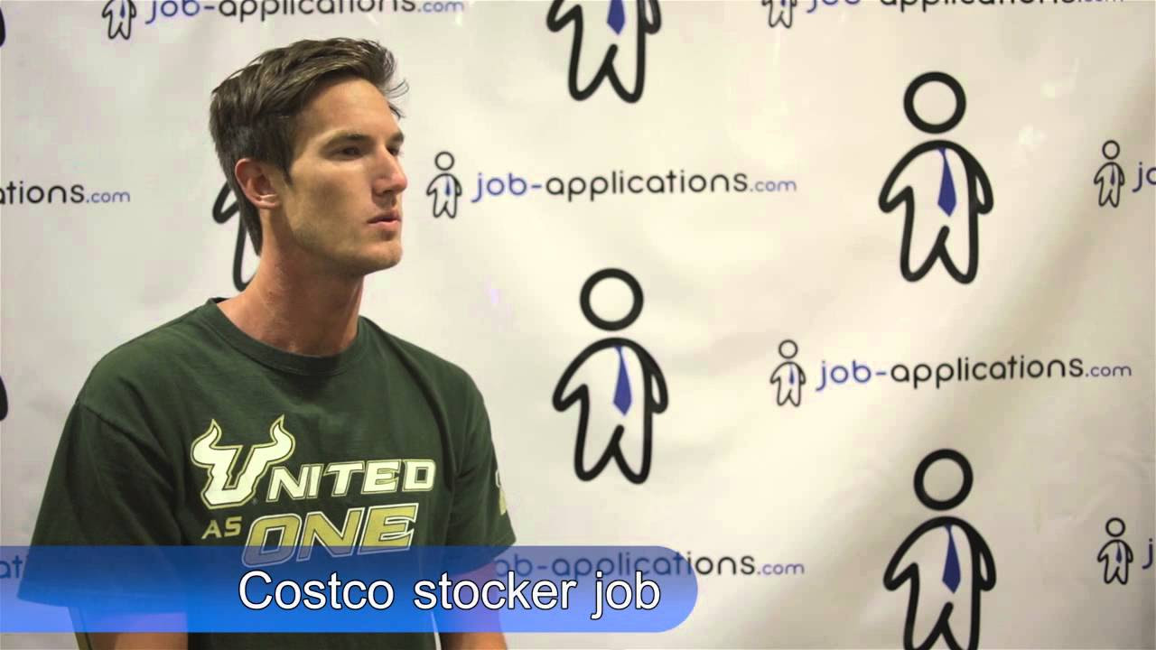 costco stock associate job description salary