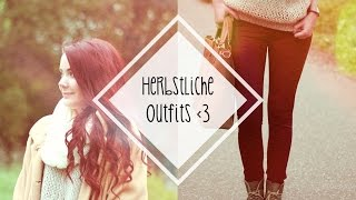 Herbstliche Outfits I inspired by tumblr + pinterest I #FallinLove Thumbnail