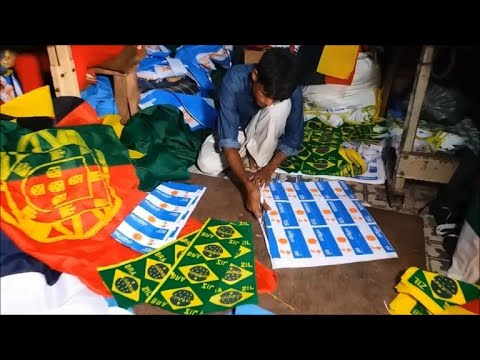 World Cup causing sleepless nights for Bangladesh flagmakers