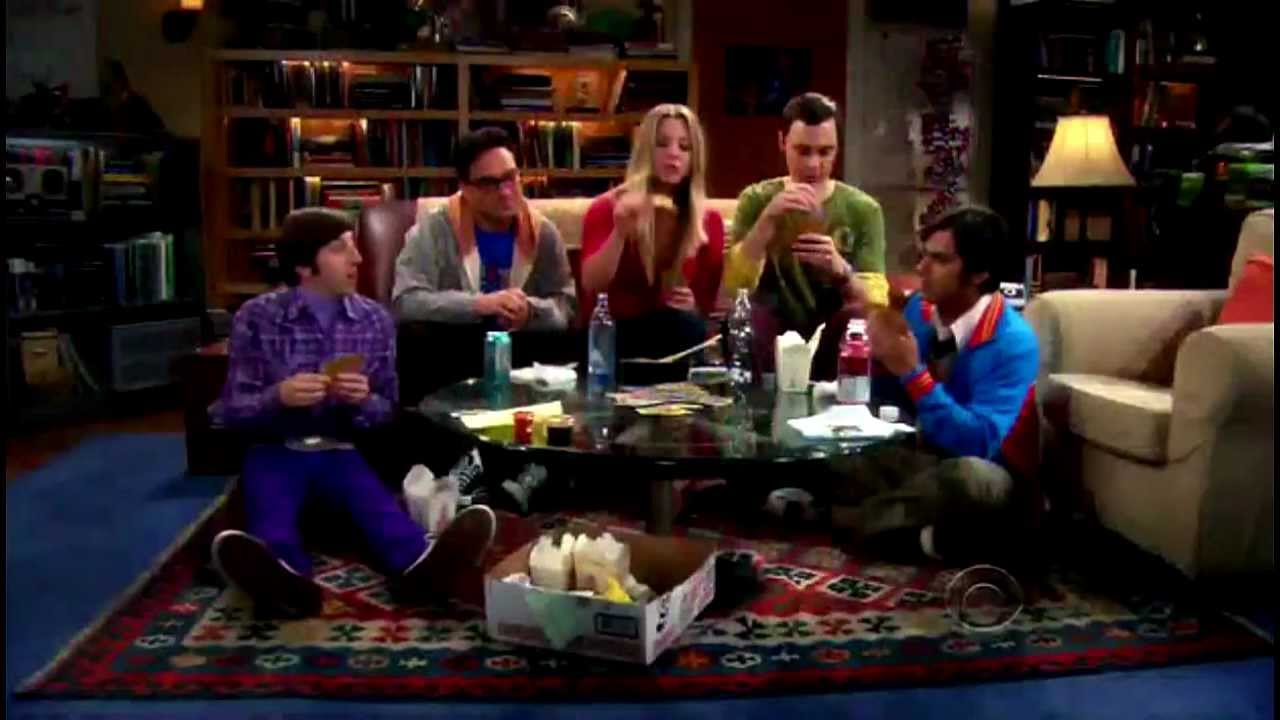 Big Bang Couch Gag Votd The Simpsons Big Bang Theory Couch Gag Runs Through The