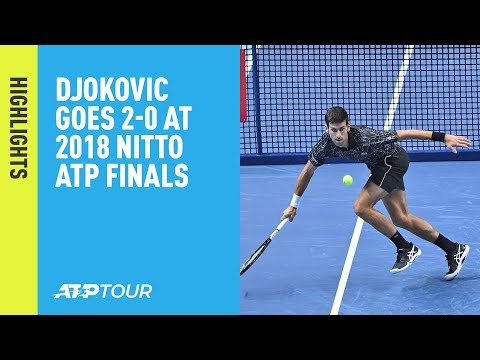 Highlights: Djokovic Beats Zverev To Move To 2-0 At The 2018 Nitto ATP Finals