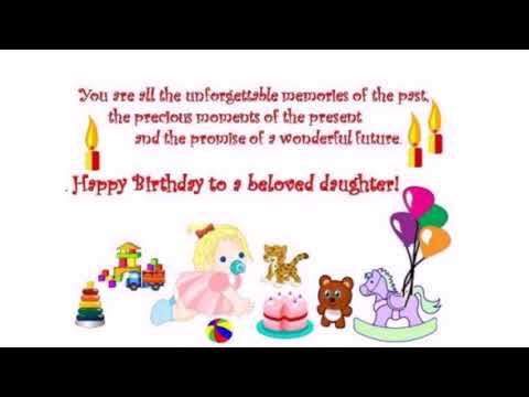 The 55 Cute Birthday Wishes for Daughter from Mom | WishesGreeting