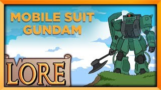 MOBILE SUIT GUNDAM 0079 | LORE XL! | Universal Century 0079 | The Anime Man
