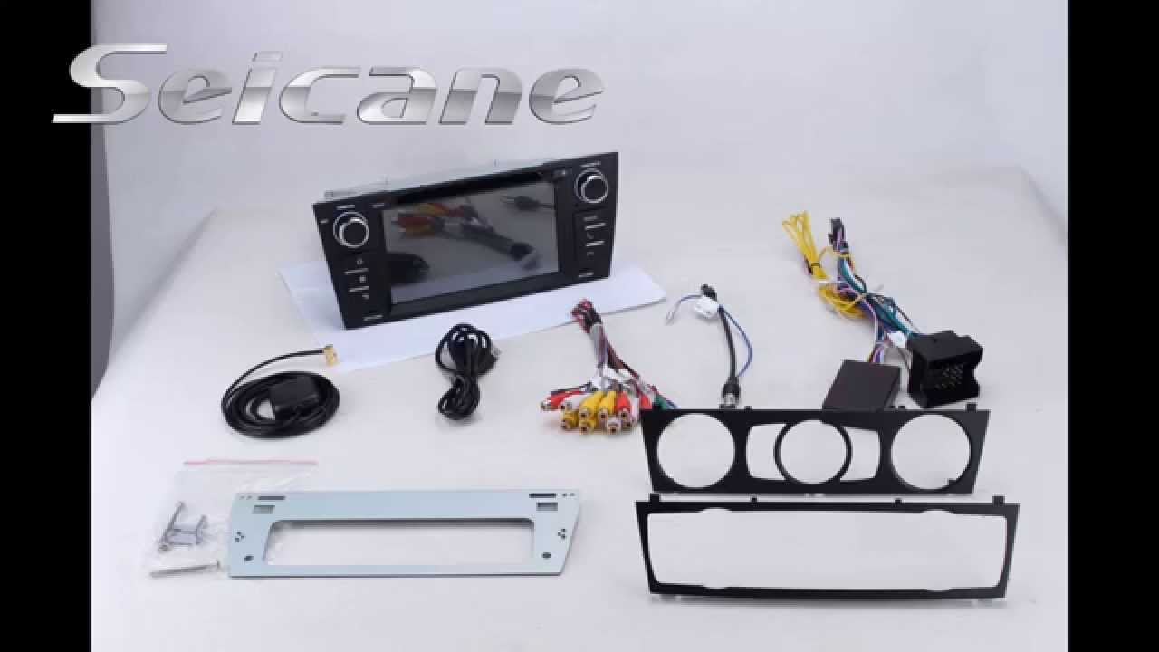 Android 4 4 2008 2009 2010 Bmw 3 Series E90 E91 E92 Gps