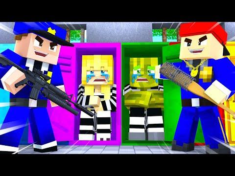 ISY & FLO werden HART GEMOBBT im GEFÄNGNIS?! - Minecraft GEFÄNGNIS