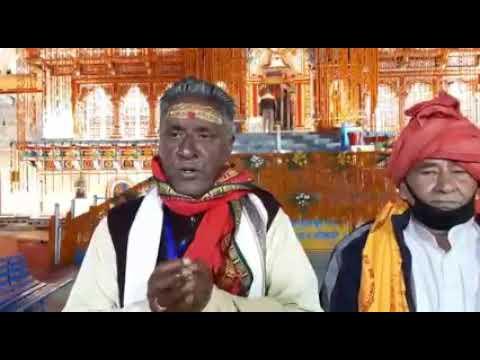 Badrinath dham 15.5.2020... कपाटोद्घाटन!