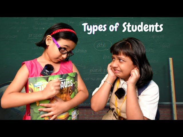 Types of Students / Funny Teacher Student Act PART - 1 | #LearnWithPari #learnwithpariyanshi