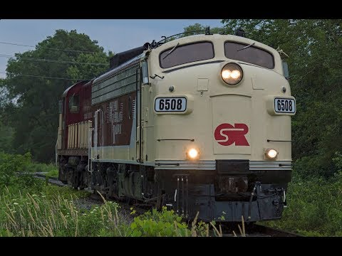 4K - A Look at Short Line Railroads throughout Southern Ontario - F Unit Action Included!