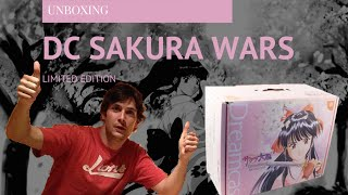 Dreamcast Sakura Wars Limited Special Edition - Unboxing