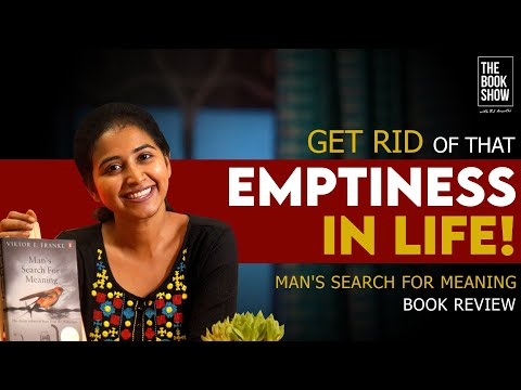 Man's Search For Meaning Book Review | The Book Show ft. RJ Ananthi