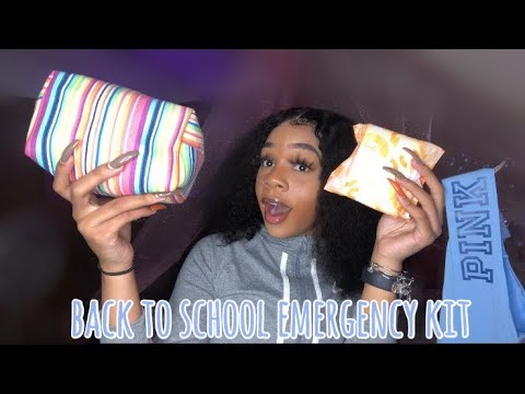everything you NEED in your school emergency kit | 2019 | liyah li