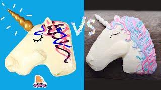 Amazing Unicorn Themed Dessert Challenge - Trying FOOD from So Yummy - Радужная Еда Челлендж