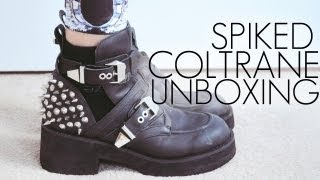 Jeffrey Campbell Spiked Coltrane Shoe Unboxing & Review