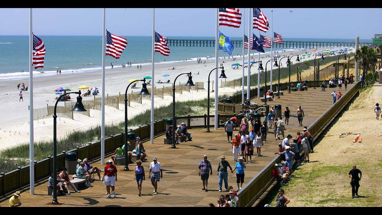 Explore The Myrtle Beach Boardwalk With