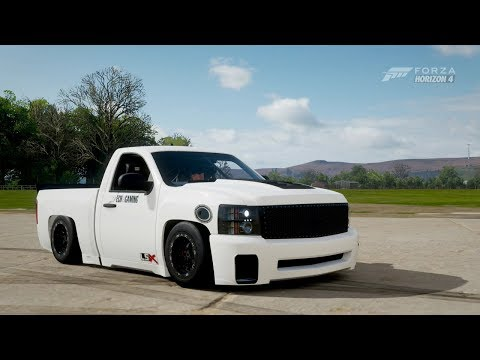 Forza Horizon 4| 1,300Hp 2010 CHEVY SILVERADO LSX SUPERCHARGED [Drag Build] thumbnail