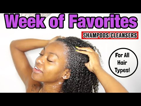 BEST Shampoos For Natural Curly Hair