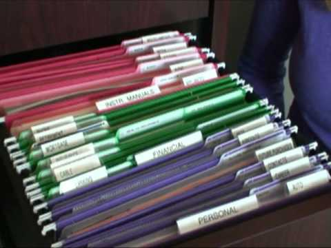Tips For Organizing A File Drawer