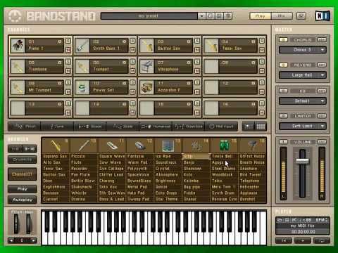 BANDSTAND plays MIDI with unmatched sample-quality PC or Mac