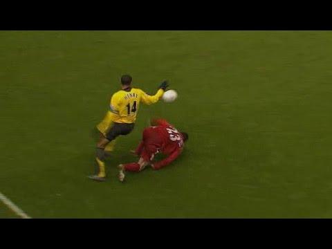 Image result for jamie carragher falling over henry