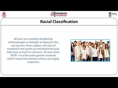 Classification of races (ANT)