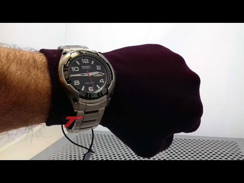 96cddc0820e Relógio ORIENT New FlyTech Automático 469TI005  Titanium  4°Geração New  Look Time Relógios