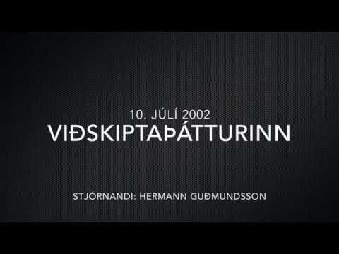 Viðskiptaþátturinn 10. júlí 2002 - Sævar Karl í nærmynd
