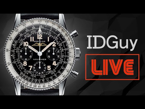 What Are Your Favourite Chronograph Watches? - IDGuy Live
