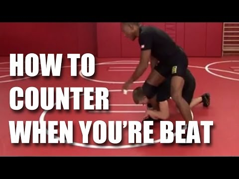 Wrestling Tips: How to counter in wrestling when you're beat with Lee Kemp