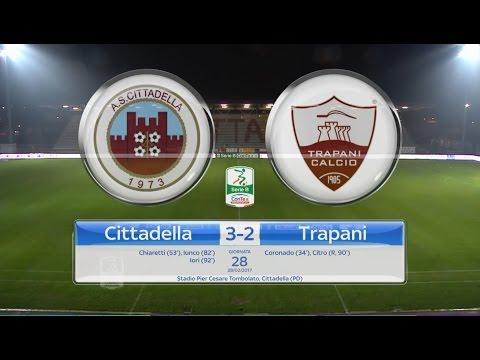 Highlights Cittadella-Trapani 3-2, 28^ Giornata SerieB 28.02.17 ©TrapaniCalcio.it