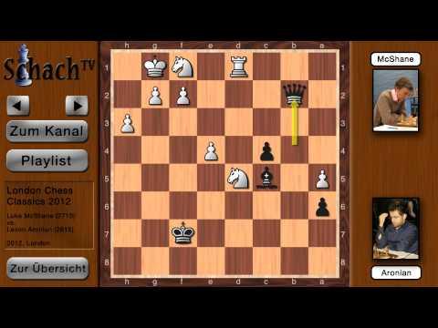 London Chess Classic 2012: Luke McShane - Levon Aronian