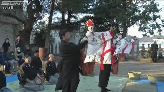 南あわじ市では、淡路人形浄瑠璃の伝統的な演目、「三番叟」が奉納され...