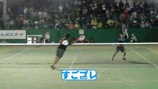[すごプレ]ソフトテニス アジア選手権2016 男子 ダブルス 決勝戦 内本・丸山ー船水(颯)・上松