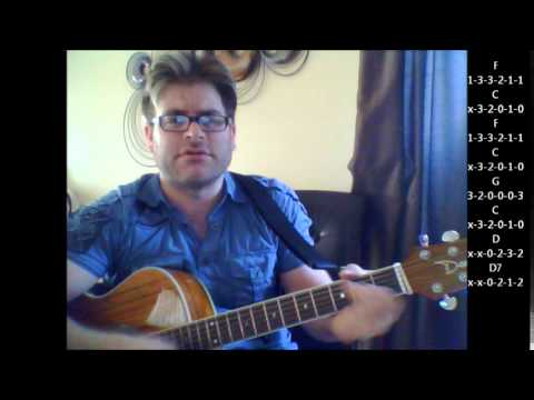 How to play Your Wildest Dreams by Moody Blues on acoustic guitar ...