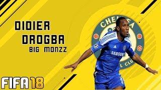 FIFA 18 DIDIER DROGBA LOOK ALIKE | PRO CLUBS