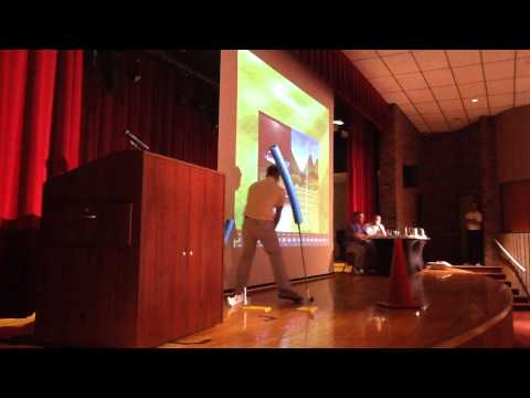 """Kyle Morris """"Practice with purpose"""". (OHSAA golf coaches meeting 2015)"""